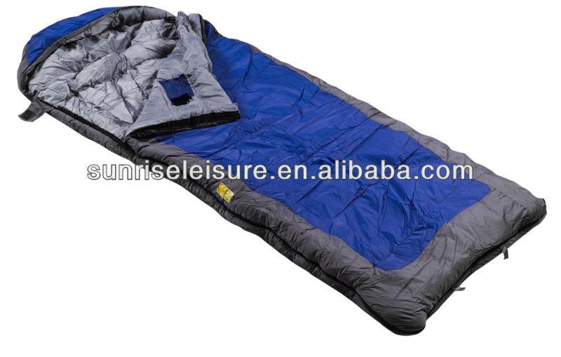 67102# envelope sleeping bag with hood, stylish sleeping bag