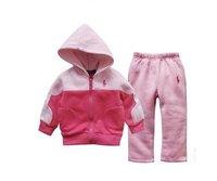 Комплект одежды для девочек Retail 2012 New! brand baby children's clothing Hoodies coat +pants 2pcs set girls boys cotton sport suit autumn winter clothes