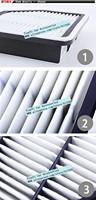 Авто воздушный фильтр/высокая доставленных автомобилей воздушный фильтр для toyota lexus является ii/качество продукции / + розничная