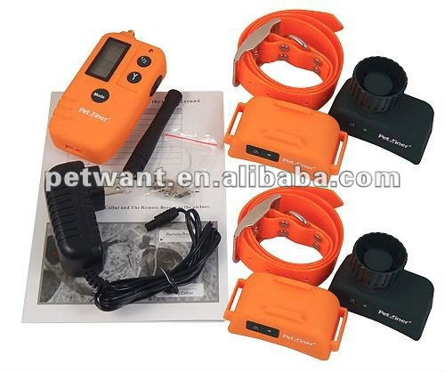 newest rechargeable&waterproof pet electronic bark collar