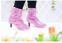 Бахилы водонепроницаемой обуви дождь покрывает для леди