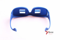 Latest Creative High Definition Horizontal colorful(Red, Pink, Blue, Black) Glasses Lazy Glasses, Novelty Bed Lie Down Periscope
