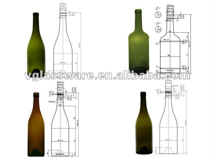 750 ml chamgne bouteille avec vert et vert fonc vert antique bouteilles id de produit 560190298. Black Bedroom Furniture Sets. Home Design Ideas