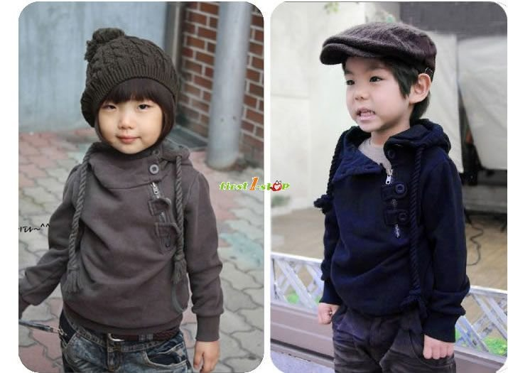 Free Shipping 5pcs boys girls hoody hoodie, baby jacket, children coat baby clothes outware