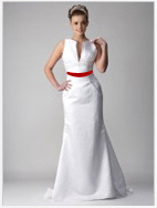Custom made 2013 Petite All Over Beaded Lace Trumpet Gown Style 7T9612 wedding dress