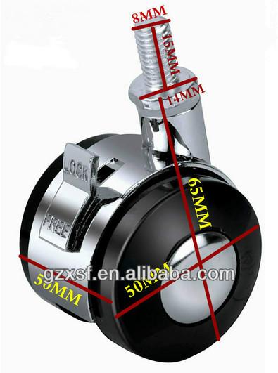 Heavy duty roulette roulette r glable pour industrielle - Roulettes industrielles pour meubles ...