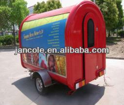 2014 new style JC-3300 mobile soup & steamed stuffed bun food cart