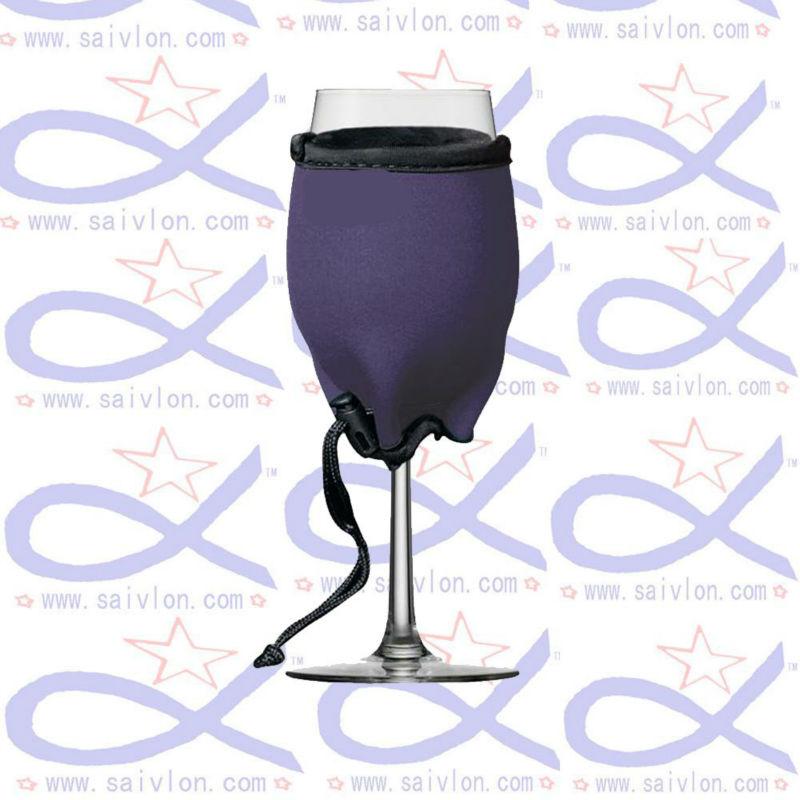Neoprene Wine Glass Holder Holder/wine Glass Stubby