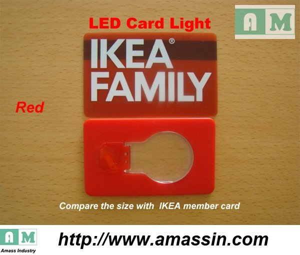 Red card light VS IKEA Membership Card