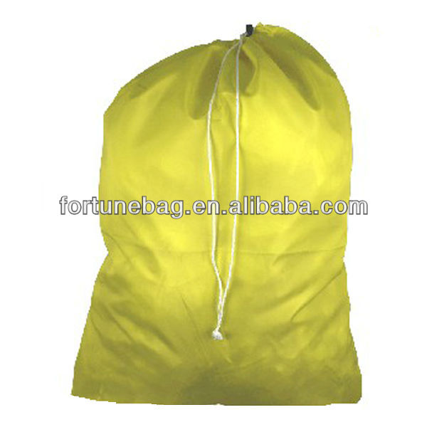 Comfortable durable nylon laundry bags
