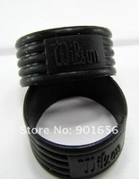 Free shipping(20pcs/lot)tennis racket rubber ring/handle's rubber bushing/tennis racquet/overgrip