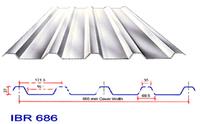Оборудование для изготовления плитки IBR Roll forming machine Auto cut to length, PLC control, roof roll forming machine, metal roof machine, cold forming machine