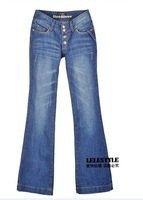 Женские джинсы lady's washed denim jeans&pants, woman's trousers, GT0528
