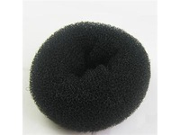 Аксессуары для создания причесок New Black Large Donut Hair Ring Bun Former Shaper Styler Tool Hairdressing FZ092