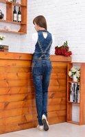 Free Shipping new overalls, detachable denim piece pants, jeans, jumpsuit-G212