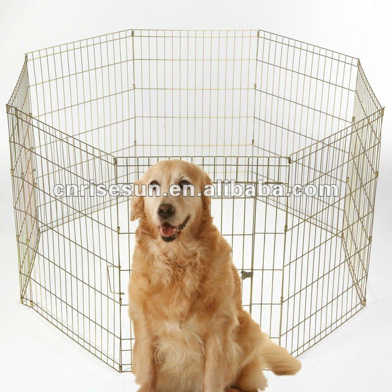 foldable Dog Exercise Pen with Door Starting Price: $8.5