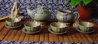 Посуда Chinese pottery DaoCaoShao-XianYun 1teapot 1ChaHai 4cups 4trays set