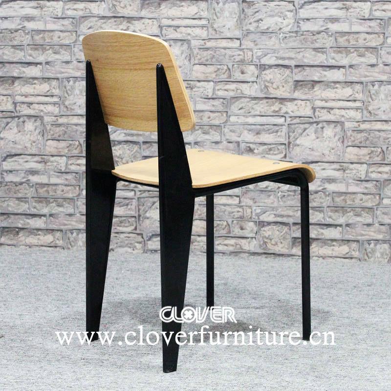 jean prouvé de standard chaise en contreplaqué-chaises en métal-id ... - Chaise Jean Prouve Prix