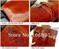 Сумка для канцелярии Retro pencil pouch twilight leather pencil case pen cosmetic bag ENCIL CASE W015