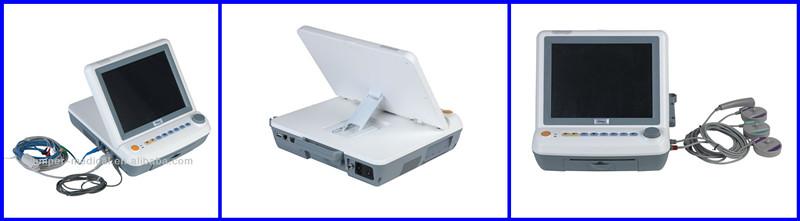 "New 12.1"" portable fetal monitor JPD-300P with fetal stimulator fuction"