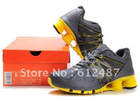 EMS 7day Delivery New Arrival Shox Sports R4 agent Athletic Sneaker trainer Men's running shoes 7color
