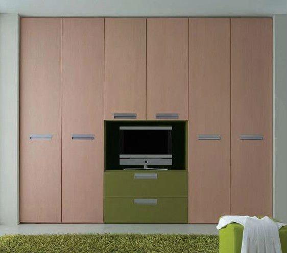 Modelos de armarios empotrados para dormitorios dise os for Modelos closet incrustados pared