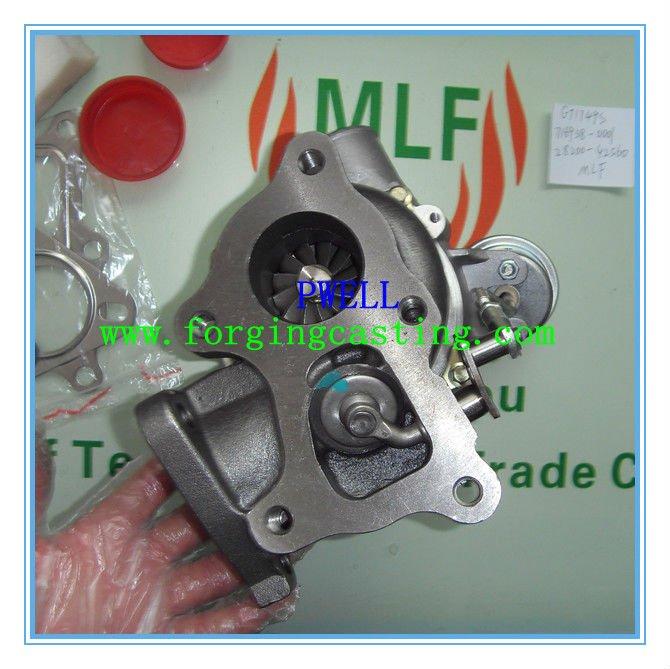 Turbo GT1749S 28200-42560 716938 716938-5001S Turbocharger For HYUNDAI Van Commercial Starex H1 02 H-1 D4BH 4D56T 2.5L