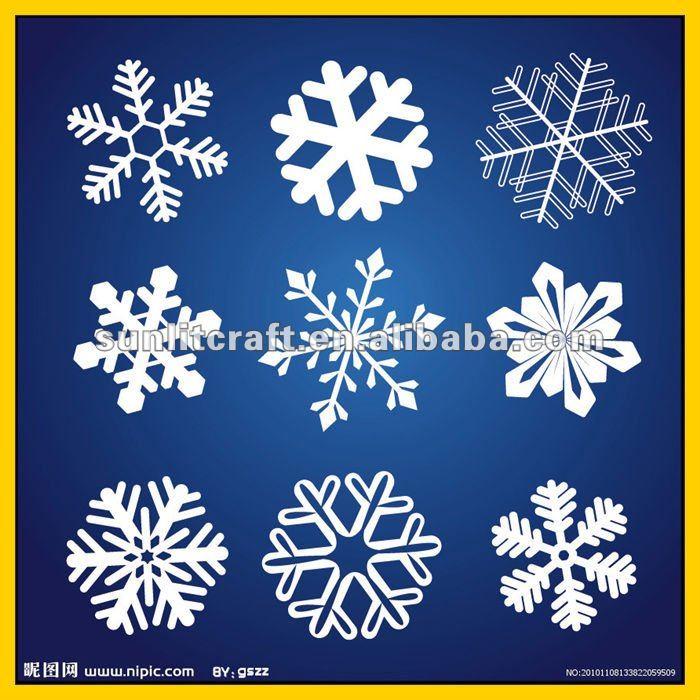 Small Foam Snowflakes Foam Snowflakes