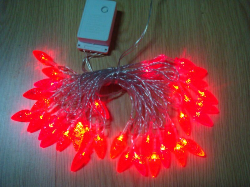 decorate light rope holiday light