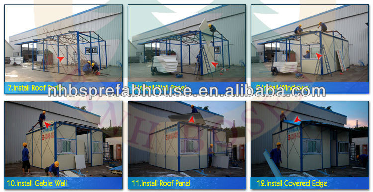 prefabricated residential houses kit houses for sale
