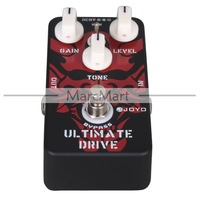 Аксессуары для гитары Joyo PRO Ultimate Drive Guitar AMP Effect Pedal JF-02 True Bypass 9V JRC458 Chip #OT186