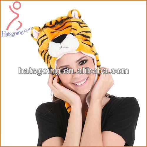Winter Hat Plush Tiger Hat