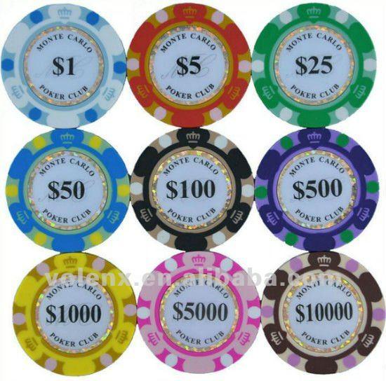 Professional 300pcs Poker Chip Set In Wooden/Aliminum Box
