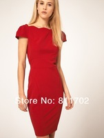 Женское платье Hot deep V ruffled dress sexy women dress