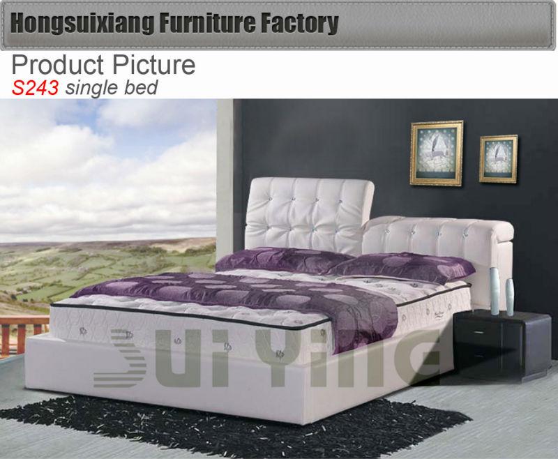 Cheap single bed futon sofa beds s243 buy futon sofa bed for Cheap single beds