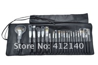 Кисти для макияжа Discount! Top Grade! Kolinshy Hair 22 pcs brand Makeup Brush sets & Kits cosmetic Brushes +Leather Case, 2 colors
