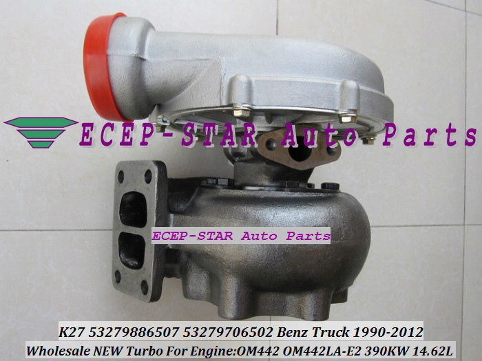 OM442 K27 53279886507 53279706502 Benz Truck 1990-2012 OM442LA-E2 390KW turbocharger (2)