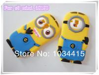 Чехол для для мобильных телефонов 1pcs/lot 3D Cute Despicable Me 2 Minions Silicone Soft Case Back Cover For Samsung Galaxy S3 mini I8190