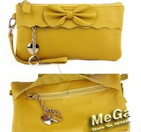 2012 New Bow Messenger Bag. Clutch. Evening bags, handbags, multi/function bag BL5536
