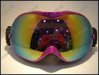 POLISI Super vision ski goggles Anti-Fog Dual Lens Sport Ski Snowboard Goggles RTP049