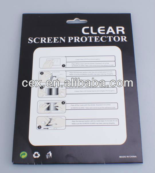 Clear Screen Protector For iPad mini