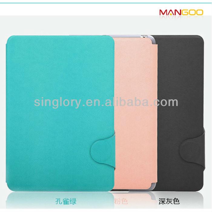 For ipad mini 2 leather case, for ipad mini retina case