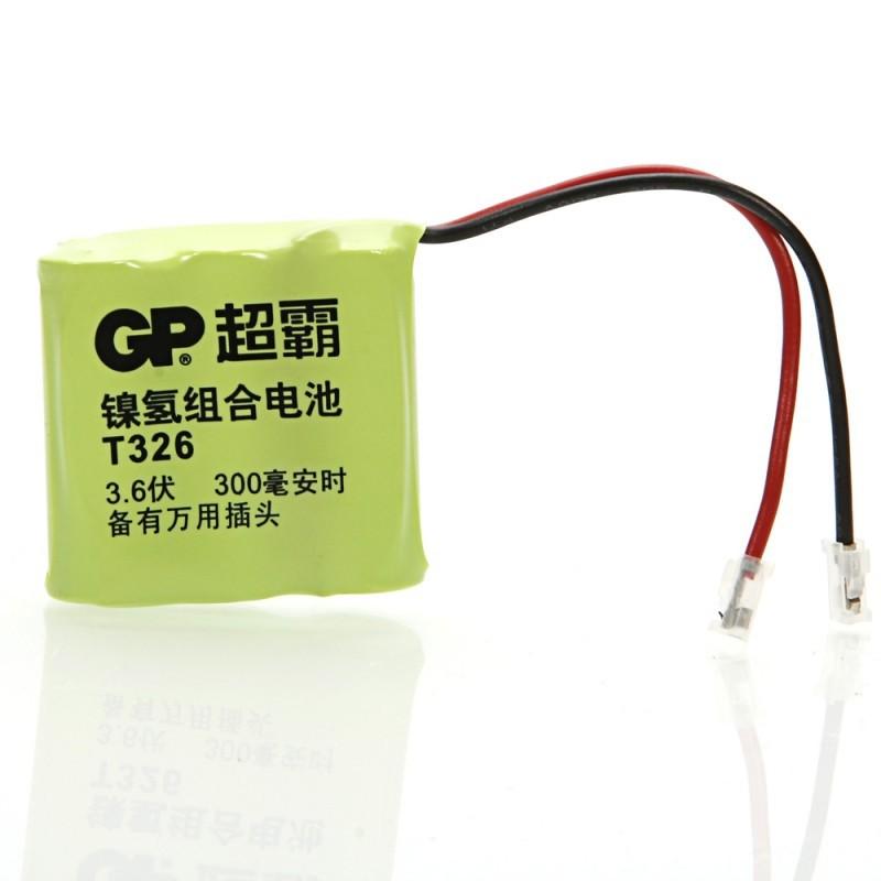 GP-326 3.6V 300mah ni-mh аккумулятора зеленый