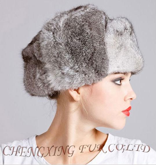 Cx-c-26c 2013 d'hiver de mode chapeau de fourrure de lapin dame