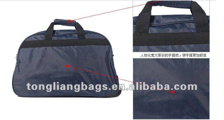 2014 new fashion style trolley travel bag