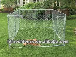 4 feet high x 5 feet wide x 10 feet unique dog kennels