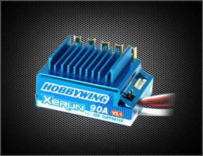 Hobbywing Xerun 90A V2.1 ESC +13.5T Motor + Program Card Combo 1/10 RC Car