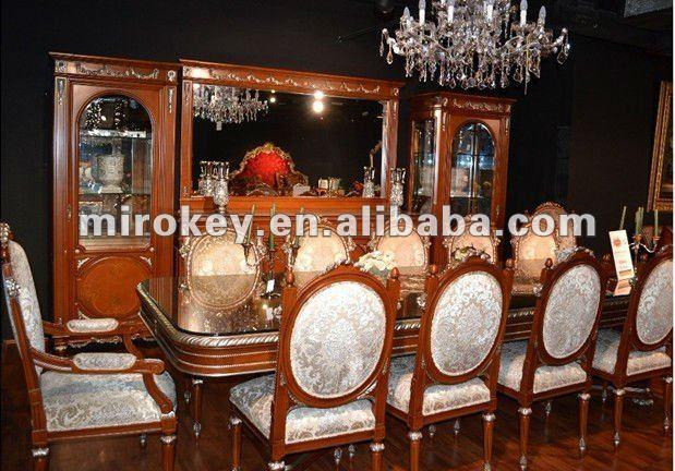 Traditial muebles de comedor conjunto, plazas 12 antiguos de ...