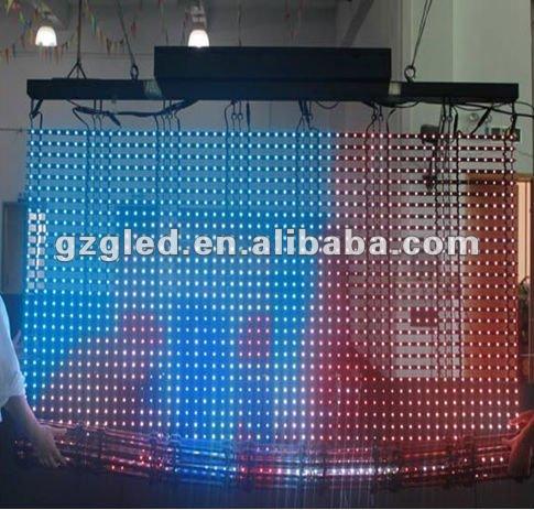 led video curtain LED effect curtain