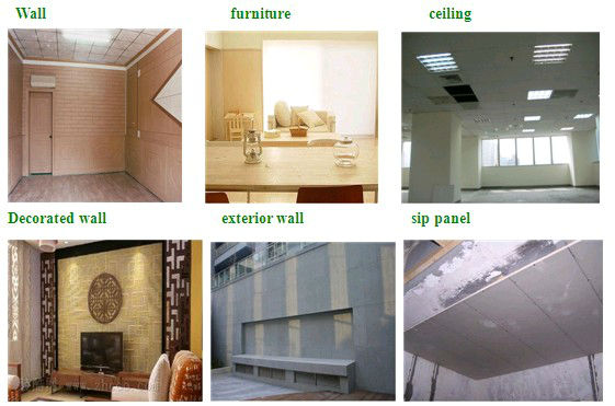 exterior wall decorative panel fireproof insulation board magnesium plates